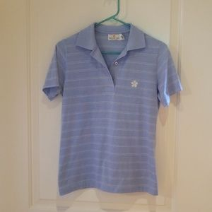 Light blue golfshirt from Mauna kea